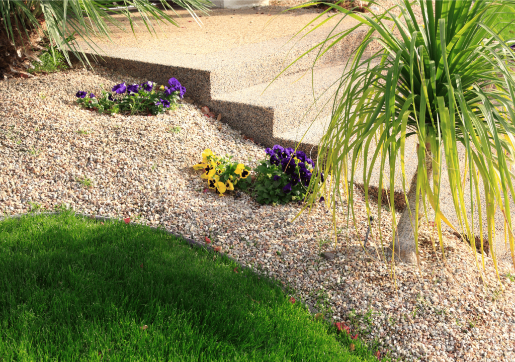 Xeriscaping job done in Henderson